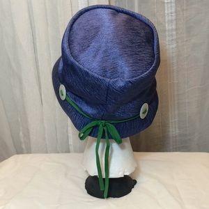 Vintage Accessories - VTG 1950s / 60s Dachettes Lilly Dache Blue Hat